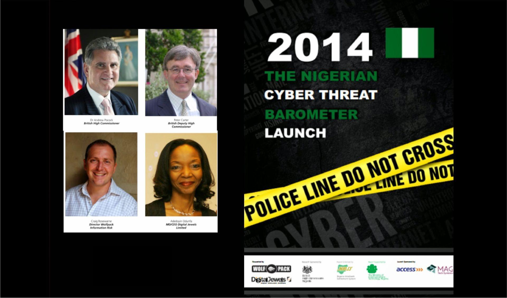 THE 2014 NIGERIAN CYBER THREAT BAROMETER